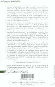 A L'Enseigne De Gersaint - 4ème de couverture - Format classique