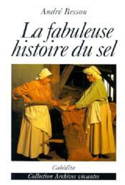 Fabuleuse Histoire Du Sel (La) - Couverture - Format classique