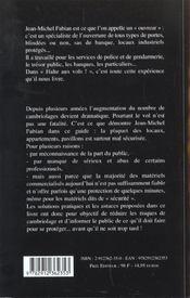 Guide Pratique Anti-Vol - 4ème de couverture - Format classique