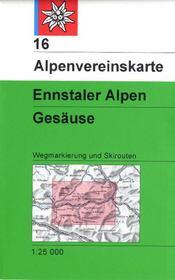 Alpenvereinskarte ; ennstaler Alpen ; Gesäuse - Couverture - Format classique