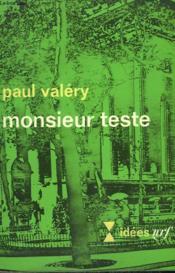 Monsieur Teste. Collection : Idees N° 183 - Couverture - Format classique