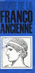 Revue De La Franco Ancienne N°175 - Couverture - Format classique