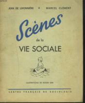 Scenes De La Vie Sociale - Couverture - Format classique
