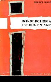 Introduction A L'Oecumenisme - Couverture - Format classique