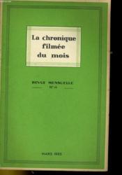 La Chronique Filmee Du Mois N°14 - Couverture - Format classique