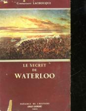 Le Secret De Waterloo - Couverture - Format classique