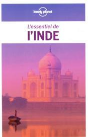 L'Inde (4e édition) - Couverture - Format classique