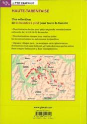 Haute-Tarentaise ; Vanoise et Beaufortain (2e édition) - 4ème de couverture - Format classique