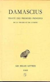 Traité des 1ers principe t.2 - Couverture - Format classique