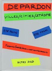 Villes/cities/städte - Intérieur - Format classique