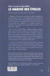 Marche Des Etoiles (Le) - 4ème de couverture - Format classique