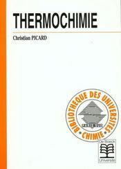 Thermochimie - Intérieur - Format classique