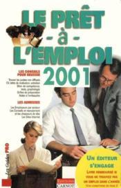 Le Pret A L'Emploi 2001 - Couverture - Format classique