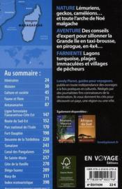 Madagascar (6e édition) - 4ème de couverture - Format classique