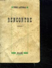 Rencontre. - Couverture - Format classique