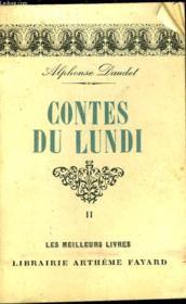 Contes Du Lundi - Tome 2 - Couverture - Format classique