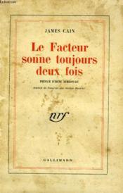 Le Facteur Sonne Toujours Deux Fois. ( The Postman Always Rings Twice ). - Couverture - Format classique
