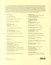 Le cahier dessiné N.9 - 4ème de couverture - Format classique