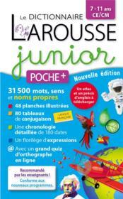 Le dictionnaire Larousse junior poche plus - Couverture - Format classique