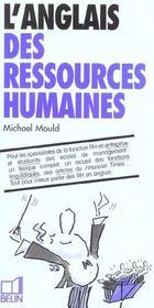 telecharger L'anglais des ressources humaines livre PDF en ligne gratuit