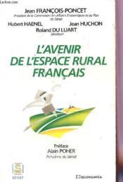 Avenir De L'Espace Rural - Couverture - Format classique