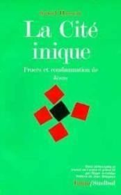 Cité inique - Couverture - Format classique