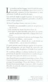 Numérologie ; le guide pratique - 4ème de couverture - Format classique