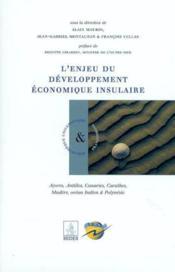 L'enjeu du développement économique insulaire - Couverture - Format classique