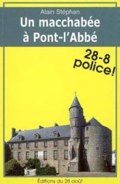 Un Macchabee A Pont L'Abbe - Couverture - Format classique