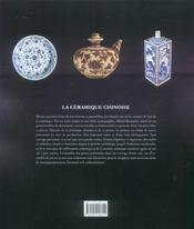 Ceramique chinoise - 4ème de couverture - Format classique