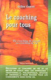 Le coaching pour tous - life coaching (édition 2005) - Intérieur - Format classique