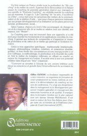 Le coaching pour tous - life coaching (édition 2005) - 4ème de couverture - Format classique