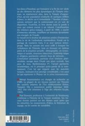 Les Grecs D'Istanbul Et Le Patriarcat Oecumenique Au Seuil Du Xxie Siecle - 4ème de couverture - Format classique