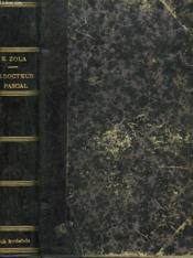 Le Docteur Pascal - Couverture - Format classique