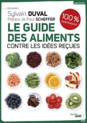 Le guide des aliments - Couverture - Format classique