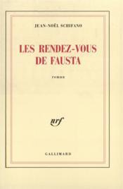 Les rendez-vous de fausta roman - Couverture - Format classique