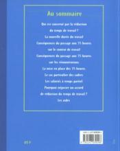 Les 35 Heures - 4ème de couverture - Format classique