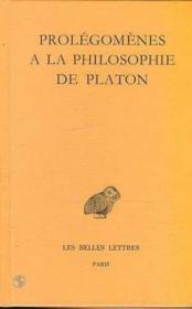 Prolegomenes à la philosophie de Platon - Couverture - Format classique