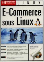Micro app. e-commerce/linux - Couverture - Format classique