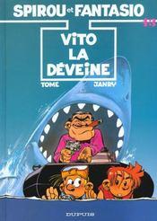 Les aventures de Spirou et Fantasio T.43 ; Vito la Déveine - Intérieur - Format classique