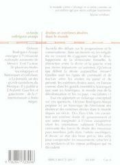 Droites et extremes droites dans le monde - 4ème de couverture - Format classique