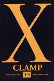 X t.13 - Couverture - Format classique