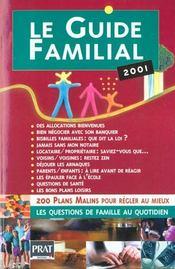Le Guide Familial 2001 - Intérieur - Format classique