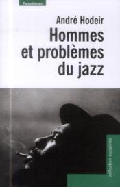 Hommes et problèmes du jazz - Couverture - Format classique