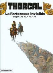 Thorgal T.19 ; la forteresse invisible - Intérieur - Format classique