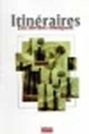 Itineraires - Couverture - Format classique