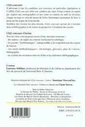 Orphee De Jean Cocteau - 4ème de couverture - Format classique