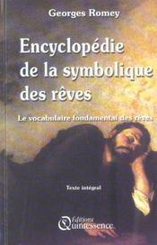 Encyclopedie de la symbolique des reves - Intérieur - Format classique