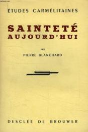 Saintete Aujourd'Hui - Couverture - Format classique