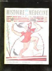 Histoire De La Medecine N° Vi Juin 1958. Sommaire: Hommage Au Docteur P Delaunay, Voltaire Sous Un Aspect Inattendu... - Couverture - Format classique